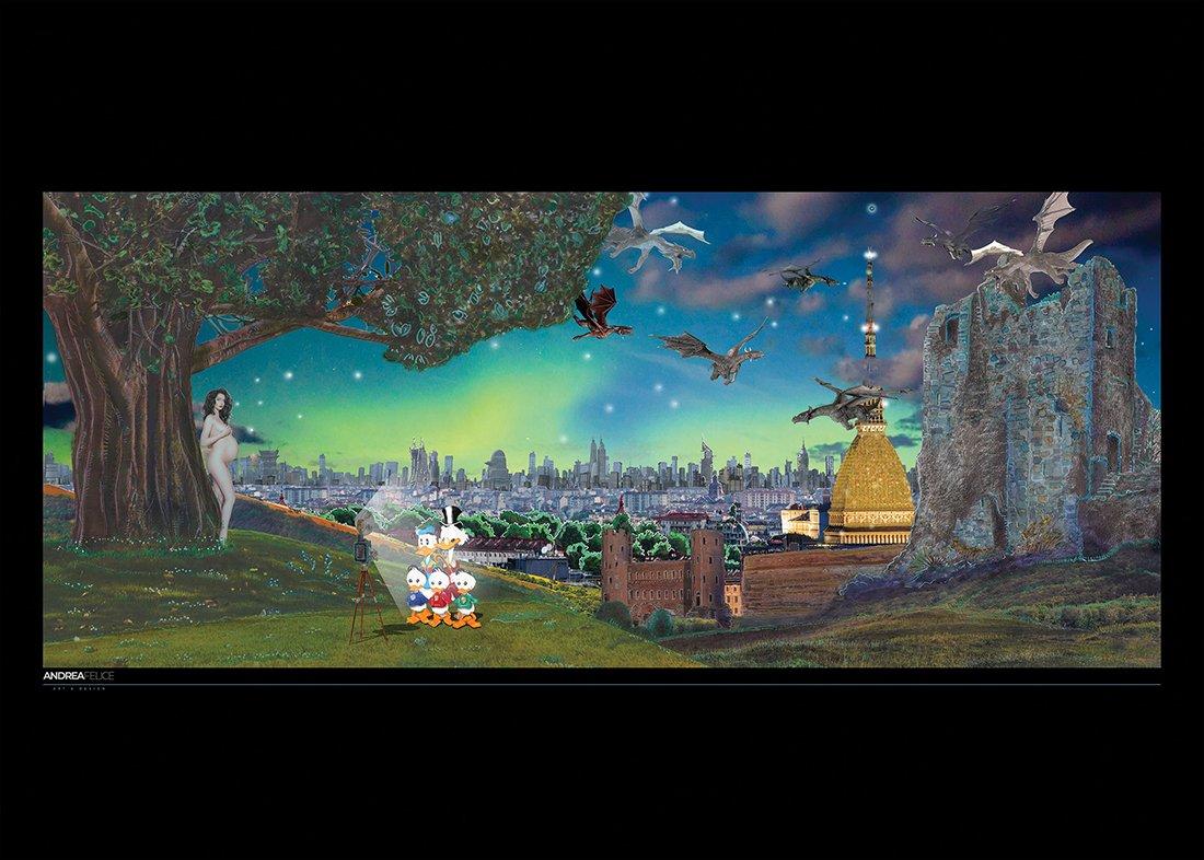 Mostri del Cielo e della Terra - Poster