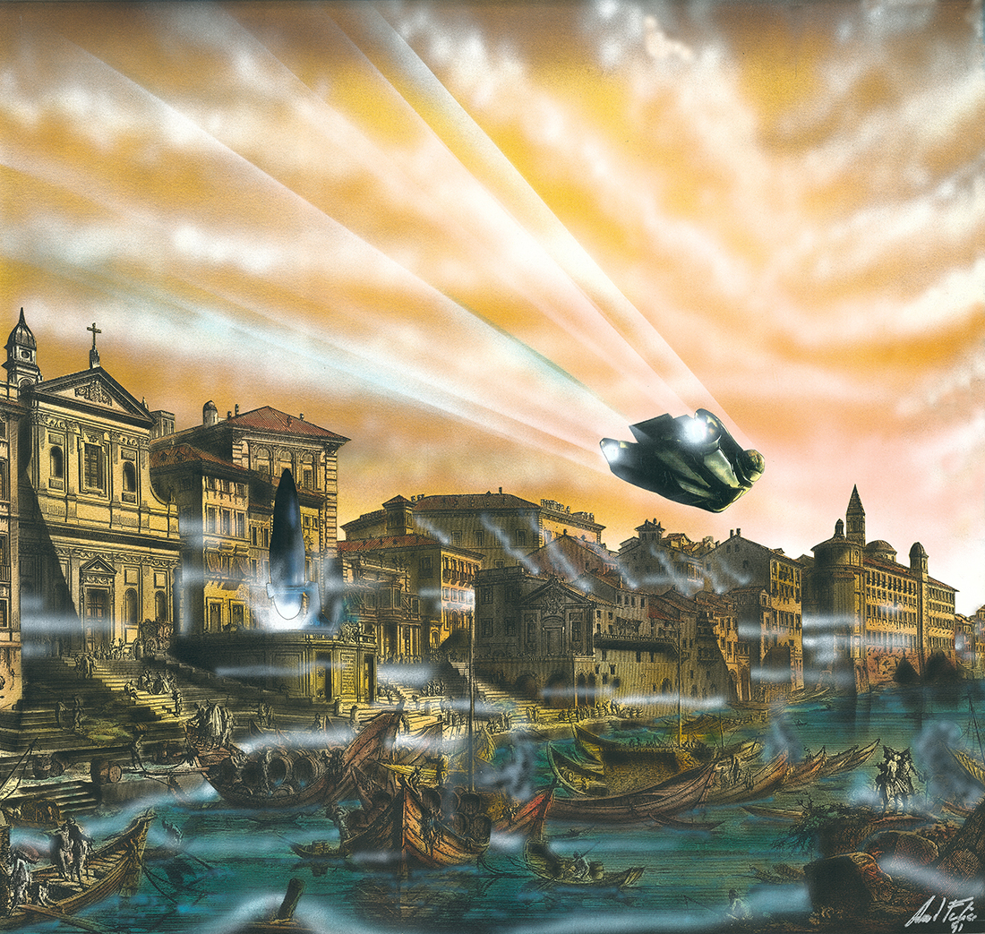 Porto di Ripetta nel 3000 d.C.
