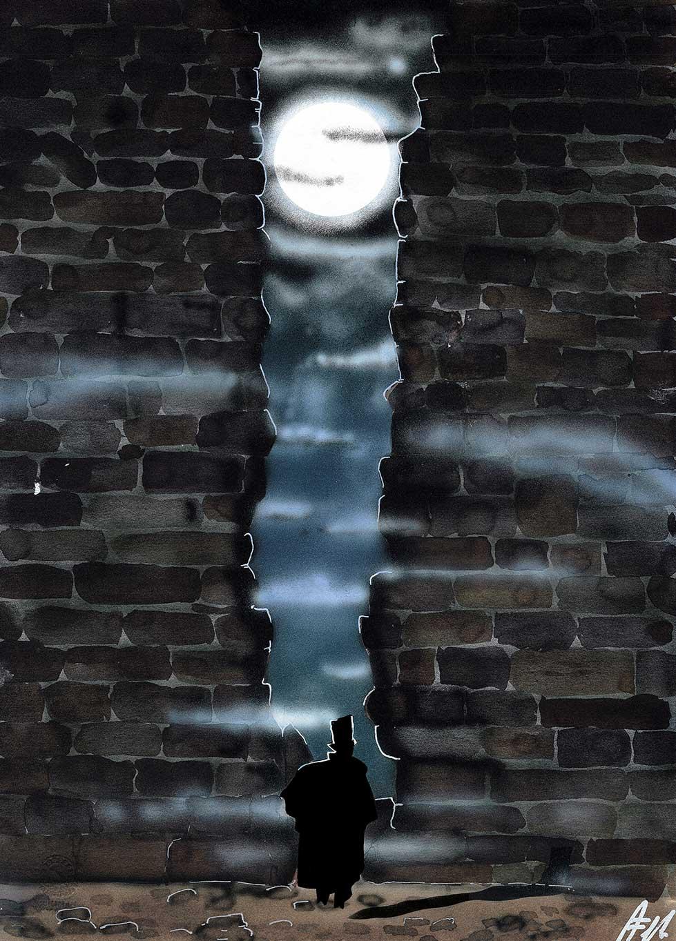 Il crollo della casa Usher Tav. 3